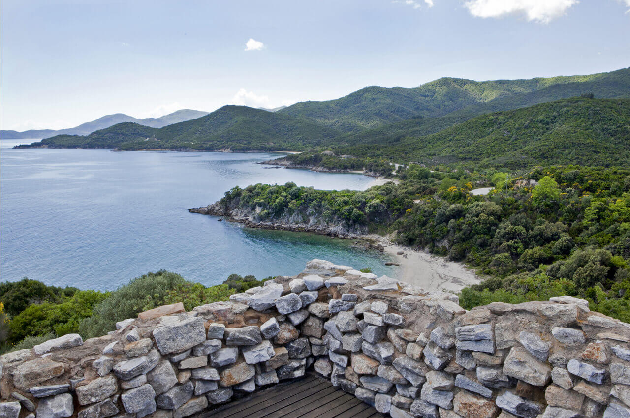 5 Archaeological Sites of Halkidiki that are worth visiting - Ancient Olynthos - Alpha Drive Rent a Car