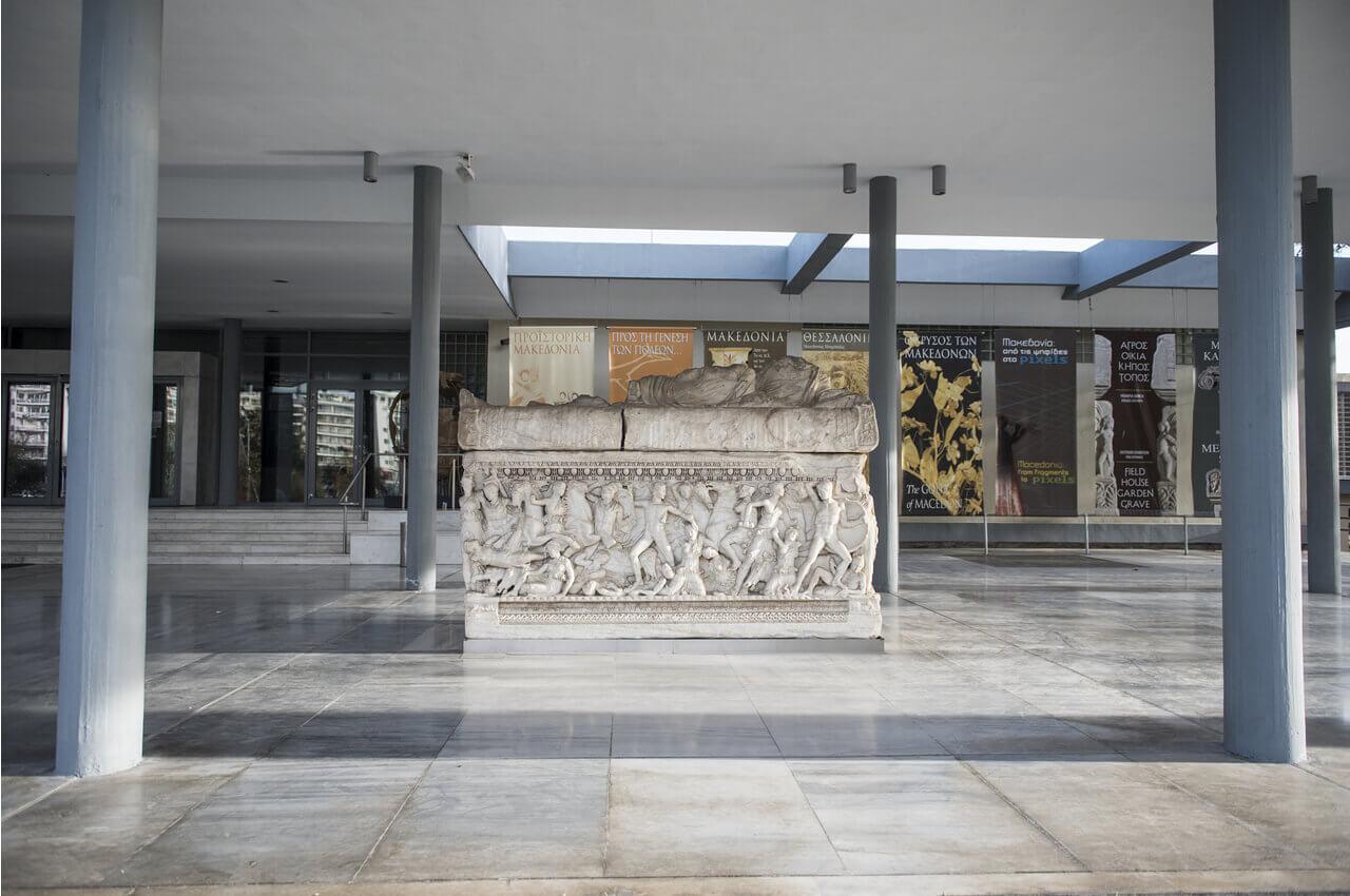 4 Sehenswürdigkeiten von Thessaloniki, die Sie sofort nach Ihrer Ankunft besuchen müssen-Ein Besuch der Schätze des Archäologischen Museums von Thessaloniki-Alpha Drive Rent a car