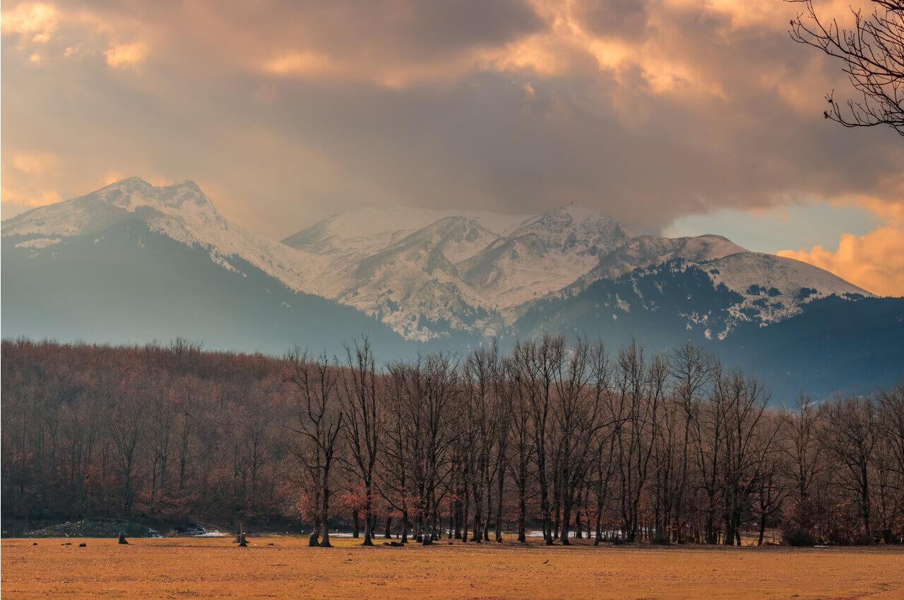 Berge von Mazedonien-lechovo-alphadrive